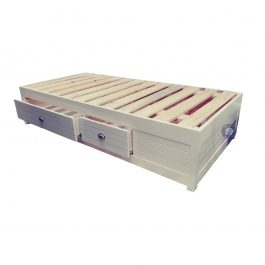Single Storage Bed Base with drawers