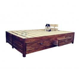 King Storage Bed Base with drawers