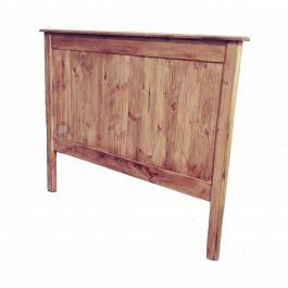 """Double Wooden Headboard – Light Oak """"Chic"""""""