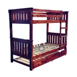 Double Bunk Beach Style – Single over Single Bed