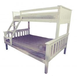 Tri Bunk Beach Style -Single over Double Bed