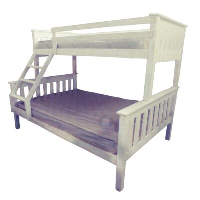 Beach Style Bunk Bed single over Double Bed