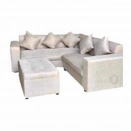 Corner Couch with Ottoman