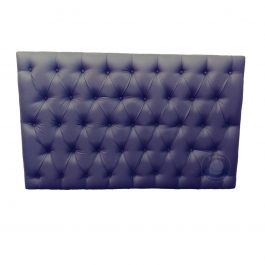 """Double Padded Headboard – Grey """"Chester"""""""