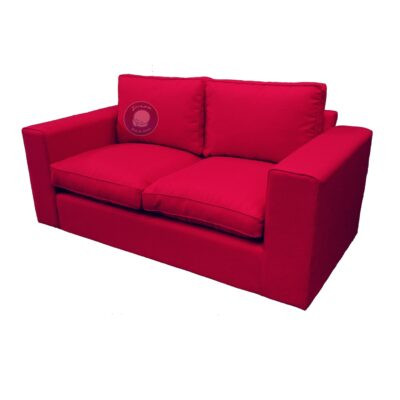 2 seater couch with loose cushions