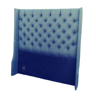 upholstered padded fabric headboard