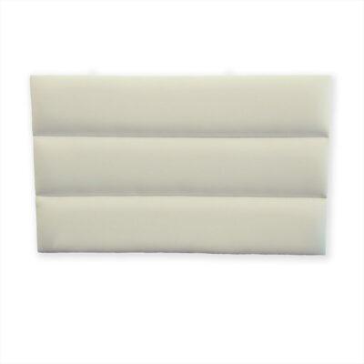 padded headboard white