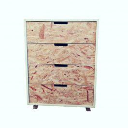 4 Drawer Chest – Retro