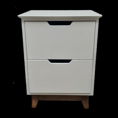 2 drawer pedestal