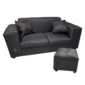 2 seater sofa grey